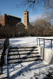 Steps to the Performance Stage - NYU Law School & Judson Church