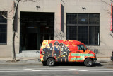 Firefighter Van at Matrix Global Academy