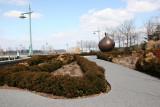 Boxwood & Bronze Apple Garden