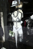 Cowgirl Dominatrix in Leslie Joyce Window