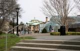 Entrance to Conservatories & Visitors Center