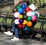 Easter Sunday Balloon Man