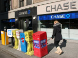 Walking the Dog by NYC News & Chase Bank
