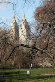 Belvedere Castle and CPW San Remo Apartment Towers