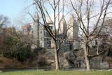 Central Park Belvedere Castle Area
