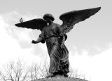 Bethesda Fountain in Black & White