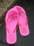 Lost or Left Flower Slippers
