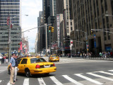 6th Avenue Uptown View at 49th Street