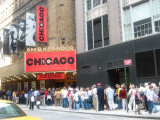 Chicago Musical at the Ambassador near Broadway