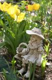 Little Bo Peep & Yellow Tulips