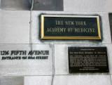 New York Academy of Medicine Markers