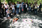 Strawberry Fields Memorial at West 72nd Street