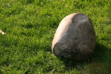 A Marble Stone on the Grass
