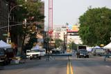 Street Fair Preparations - South View