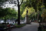 Early Evening by the Garibaldi Statue
