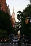 Early Evening at the Arch - Fifth Avenue View