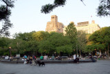 Early Evening at the Fountain
