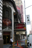 Chorus Line the the Gerald Schoenfeld Theatre