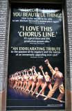 Chorus Line the the Gerald Schoenfeld Theatre Poster