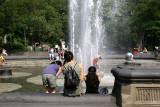 Fountain Enjoyment