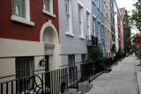 Pastel Row Houses