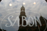 SABON Window Reflection - Jefferson Market Courthouse