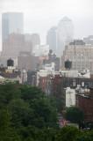 Morning Rain - Downtown Manhattan