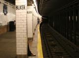 Uptown Subway Platform
