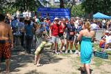 NYC Triathlon - At the Finish Line