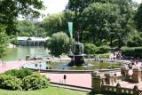 Bethesda Fountain, Lake & Boat House