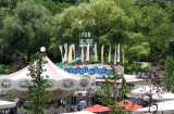 Childrens' Amusement Park at the Ice Skating Rink
