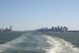 NJ/NY Port - Ferry Wake