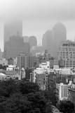 Downtown Manhattan Fog Cover
