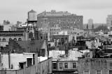 West Greenwich Village & New Jersey Palisades - Black & White
