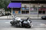 Motorcycle at NYU Copy Center