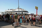 Labor Day Weekend - Taking the Ferry to the Atlantic Highlands, NJ Shore