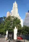 Woolworth Building & City Hall Gate at Center Street