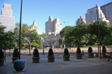 City Hall View from Pace University at Center Street