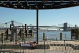 Sun Bathing - East River Shore & Bridges