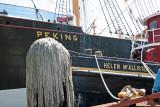 Peking Clipper Ship & Helen McAllister Tug Boat
