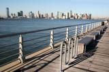 Christopher Street Pier & Jersey City Skyline