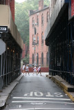 Jersey Street - View from LaFayette to Old St Patrick's Church on Mulberry Street
