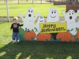 Susies grandson , 22 mths at the Pumpkin Patch