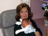 MaryLou with grandson William