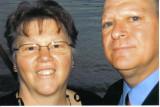 Bonnie  in the adirondacks and Husband Michael