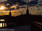 Sunset, Stockholm, Sweden