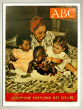 Josephine Baker with children