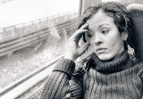 early morning train ride contemplation