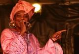 Singer of the AFRICAN RHYTHM ALL STARS
