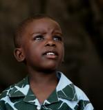 little boy from Sierra Leone